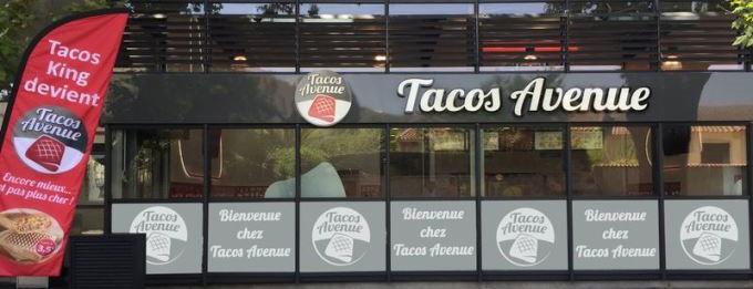 tacos avenue enseigne  franchise restauration rapide