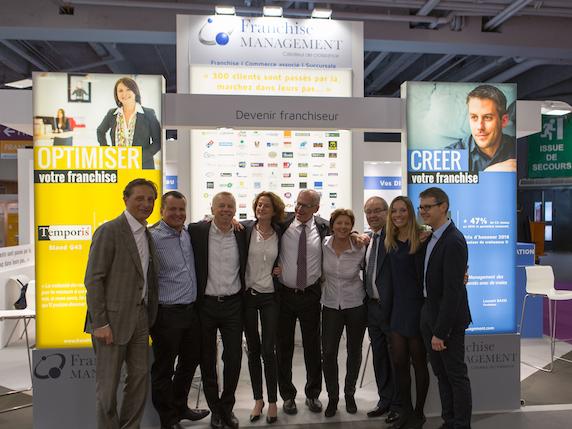 Les consultants Franchise Management à Franchise Expo Paris 2017
