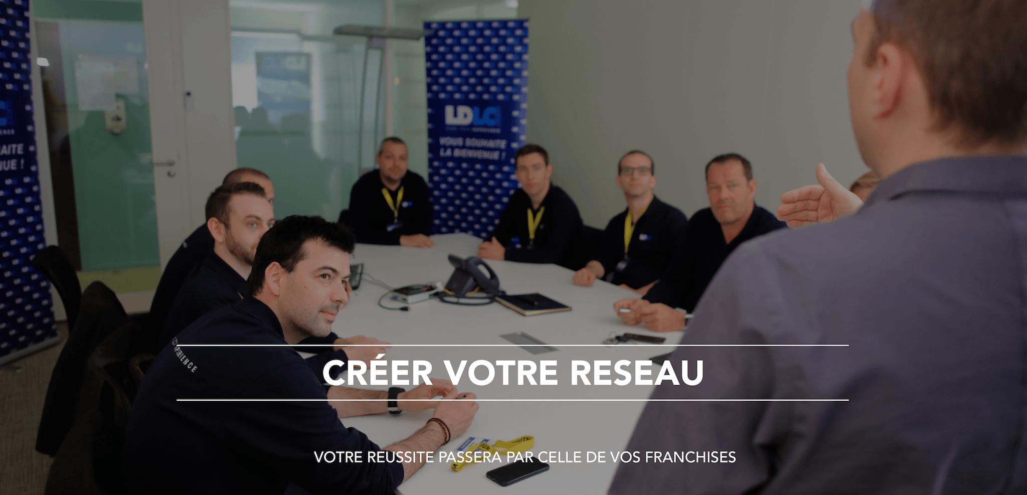 Créer votre réseau - réseau de franchisés - conseil franchise