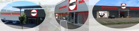 Les magasins franchisés Darty