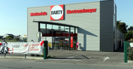 Un magasin Darty franchise
