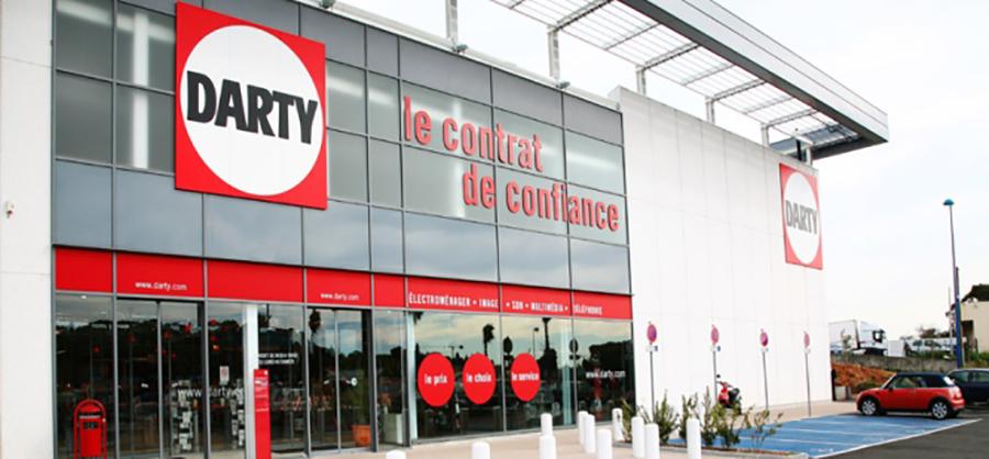darty magasins franchise