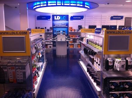 le magasin pilote de la franchise LDLC