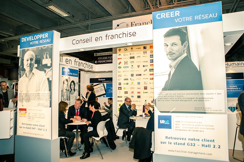 franchiseurs stand live franchise management franchise expo