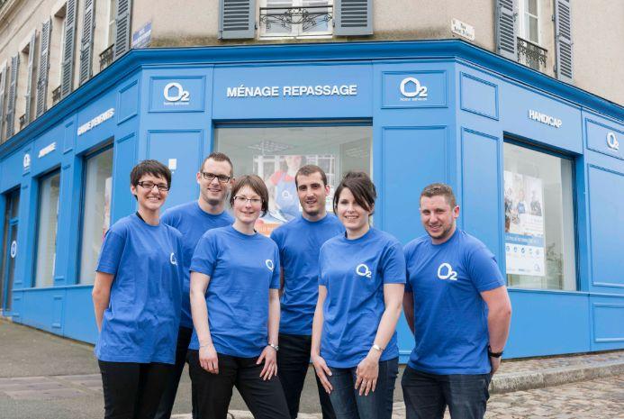 Une agence O2, un développement en franchise