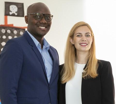 Anne-Laure et Junior Noubissi, franchiseurs et fondateurs de la franchise la cabane d'Achille & Camille