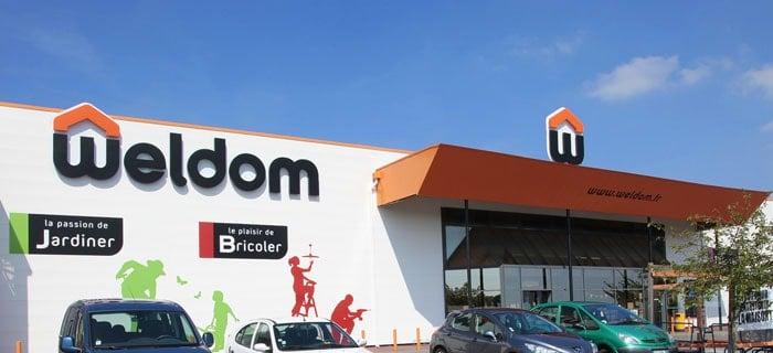 Weldom, une enseigne qui utilise le système de franchise et de coopérative de commerçants détaillants
