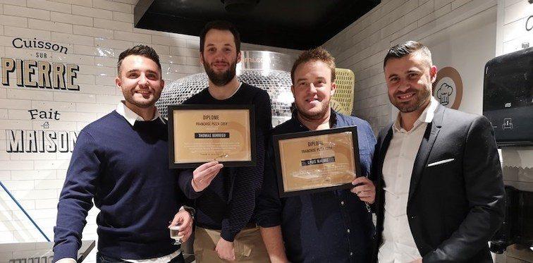 Des nouveaux franchisés PIZZA COSY, fraîchement diplômés