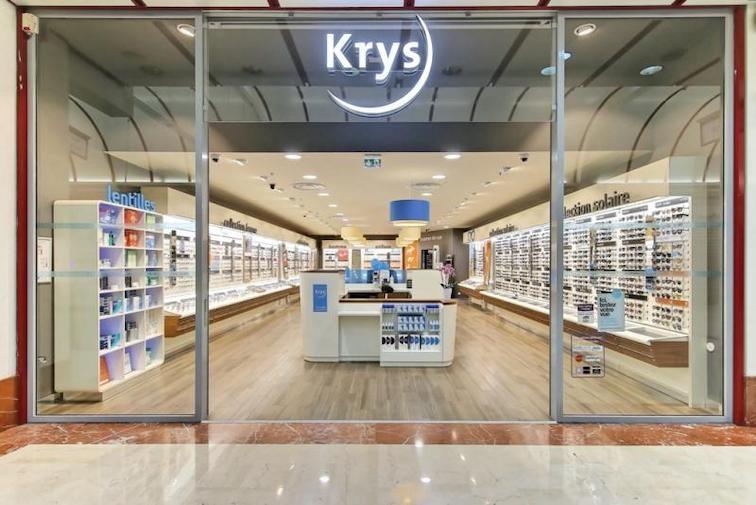 un magasin krys, une coopérative de commerçants détaillants