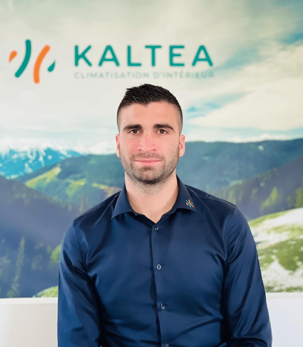 Kevin Torrano - dirigeant fondateur, franchiseur de Kaltea