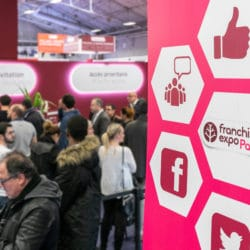 Le salon de la franchise Franchise Expo Paris, un salon a destination des candidats à la franchise, où les franchiseurs et les enseignes en développement exposent